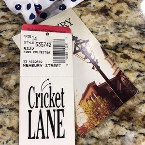 Cricket Lane Tops - NWT Cricket Lane Blouse